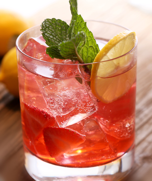 VG - Spiked Strawberry Spritzer