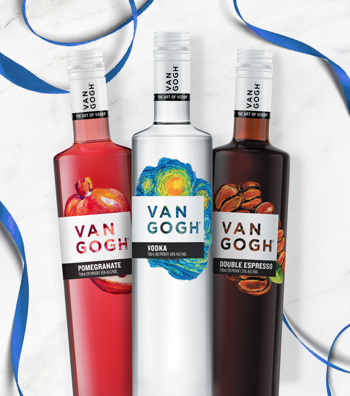 Van Gogh Vodka - Assorted flavors